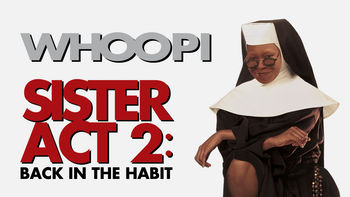 Netflix box art for Sister Act 2: Back in the Habit