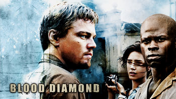 Netflix box art for Blood Diamond