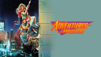 Netflix box art for Adventures in Babysitting
