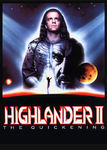 Highlander 2: Renegade Version Poster