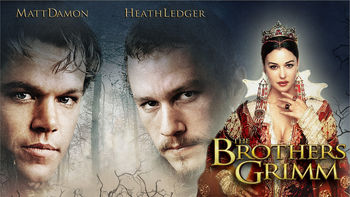 Netflix box art for The Brothers Grimm