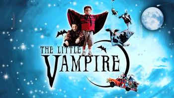 Netflix box art for The Little Vampire