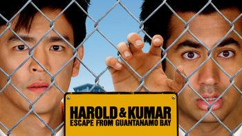 Netflix box art for Harold & Kumar Escape from Guantanamo Bay