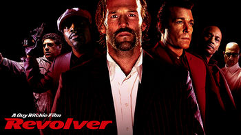 Netflix box art for Revolver