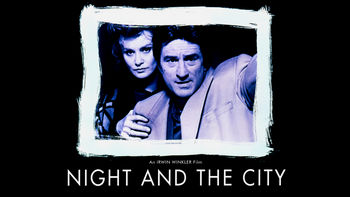 Netflix box art for Night and the City