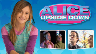 Netflix box art for Alice Upside Down