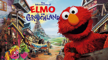 Netflix box art for The Adventures of Elmo in Grouchland