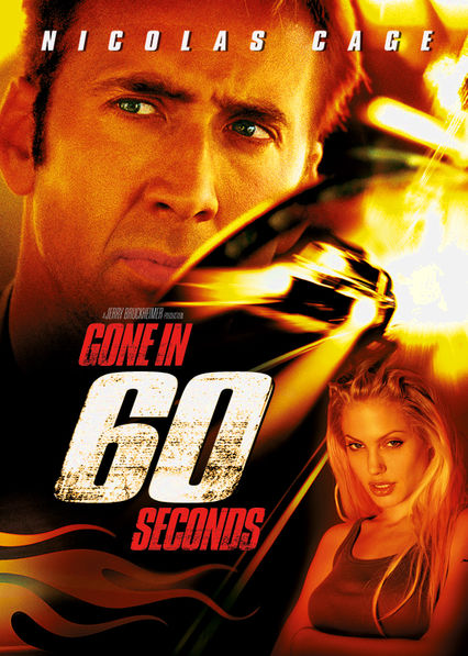Gone in 60 Seconds Netflix ES (España)