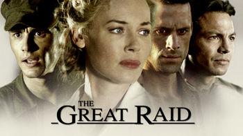 Netflix box art for The Great Raid