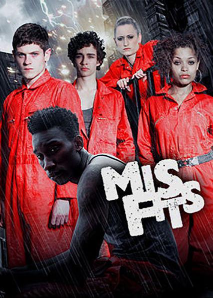 Misfits Netflix AR (Argentina)