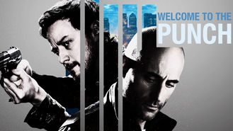 Netflix Box Art for Welcome to the Punch