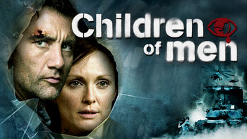 Netflix box art for Children of Men