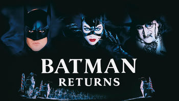 Netflix box art for Batman Returns