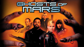 Netflix box art for Ghosts of Mars