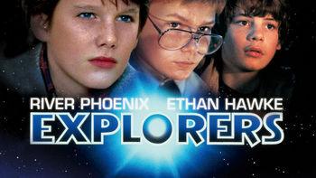 Netflix box art for Explorers