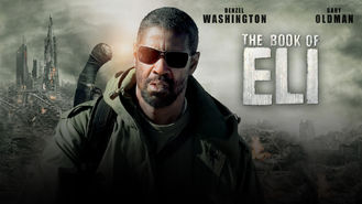 Netflix box art for The Book of Eli