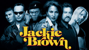 Netflix box art for Jackie Brown