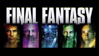 Netflix box art for Final Fantasy: The Spirits Within