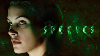 Netflix box art for Species