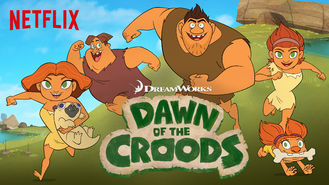 Netflix box art for Dawn of the Croods - Season 1