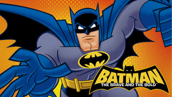 Netflix box art for Batman: The Brave and the Bold - Season 1