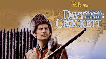 Netflix box art for Davy Crockett: King of the Wild Frontier