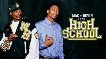 Netflix box art for Mac & Devin Go to High School
