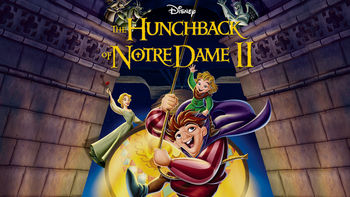 Netflix box art for The Hunchback of Notre Dame II