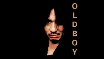 Netflix box art for Oldboy