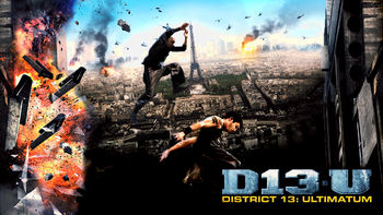 Netflix box art for District 13: Ultimatum