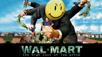 Netflix box art for Wal-Mart: The High Cost of Low Price