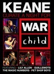 Keane: Curate a Night for War Child Poster