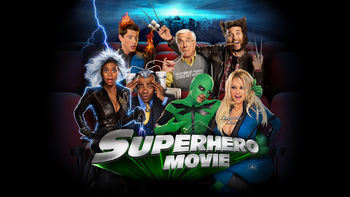Netflix box art for Superhero Movie