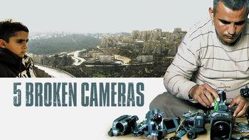 Netflix box art for 5 Broken Cameras