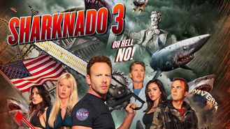 Netflix box art for Sharknado 3