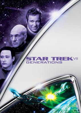 Is Star Trek: Generations on Netflix?