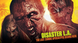Netflix box art for Disaster L.A.: The Last Zombie Apocalypse
