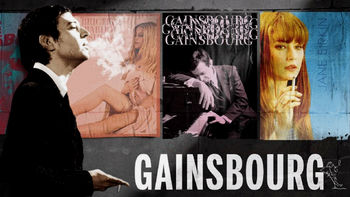 Netflix box art for Gainsbourg: A Heroic Life
