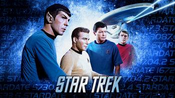 Netflix box art for Star Trek - Season 1