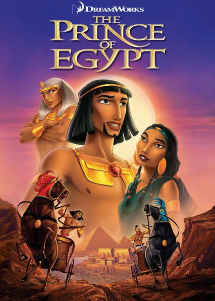 The Prince of Egypt Netflix BR (Brazil)