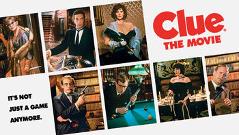 Netflix box art for Clue