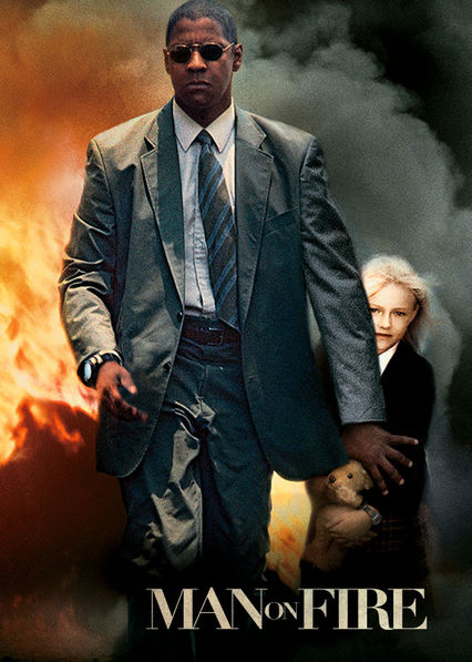 Man on Fire Netflix BR (Brazil)