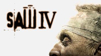 Netflix box art for Saw IV