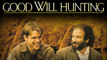 Netflix box art for Good Will Hunting