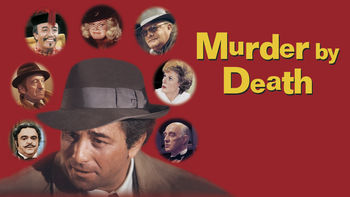 Netflix box art for Murder by Death