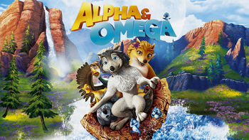 Netflix box art for Alpha and Omega