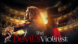 Netflix box art for The Devil's Violinist