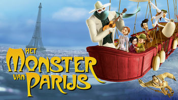 Netflix box art for A Monster in Paris