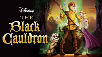 Netflix box art for The Black Cauldron