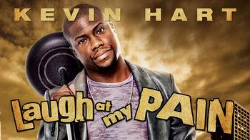 Netflix box art for Kevin Hart: Laugh at My Pain